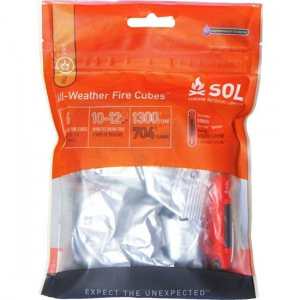 SOL All-Weather Fire Cubes