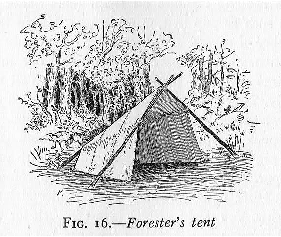 photo: Tentsmiths Forester Tent tarp/shelter