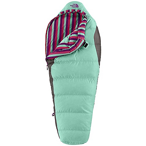 photo: The North Face Kids' Aleutian 3S Bx 3-season synthetic sleeping bag