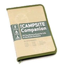 photo of a Running Press camping/hiking/backpacking book