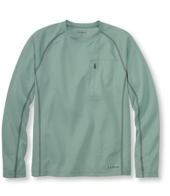 L.L.Bean Coolweave Technical Fishing Shirt, Long-Sleeve