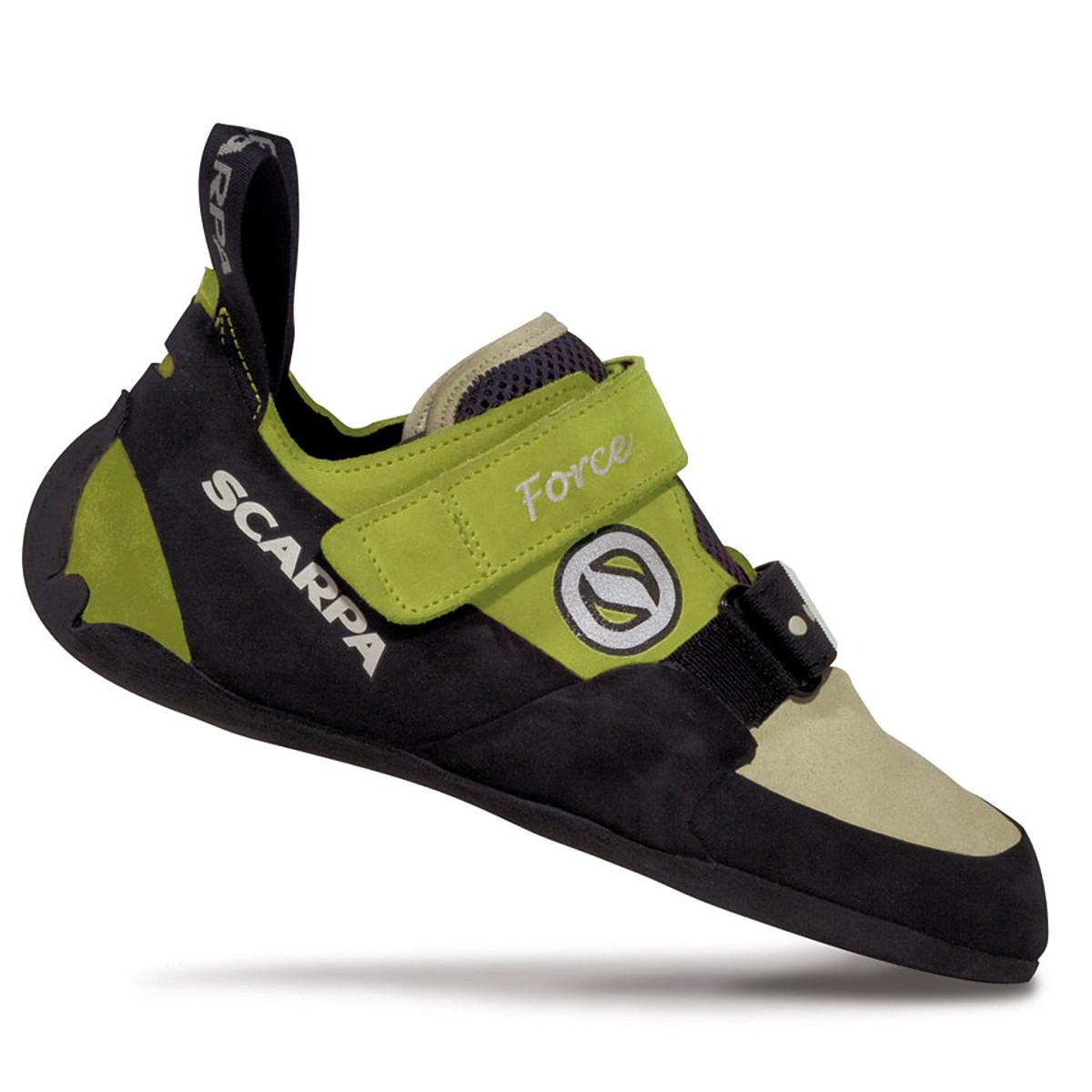 photo: Scarpa Women's Force climbing shoe