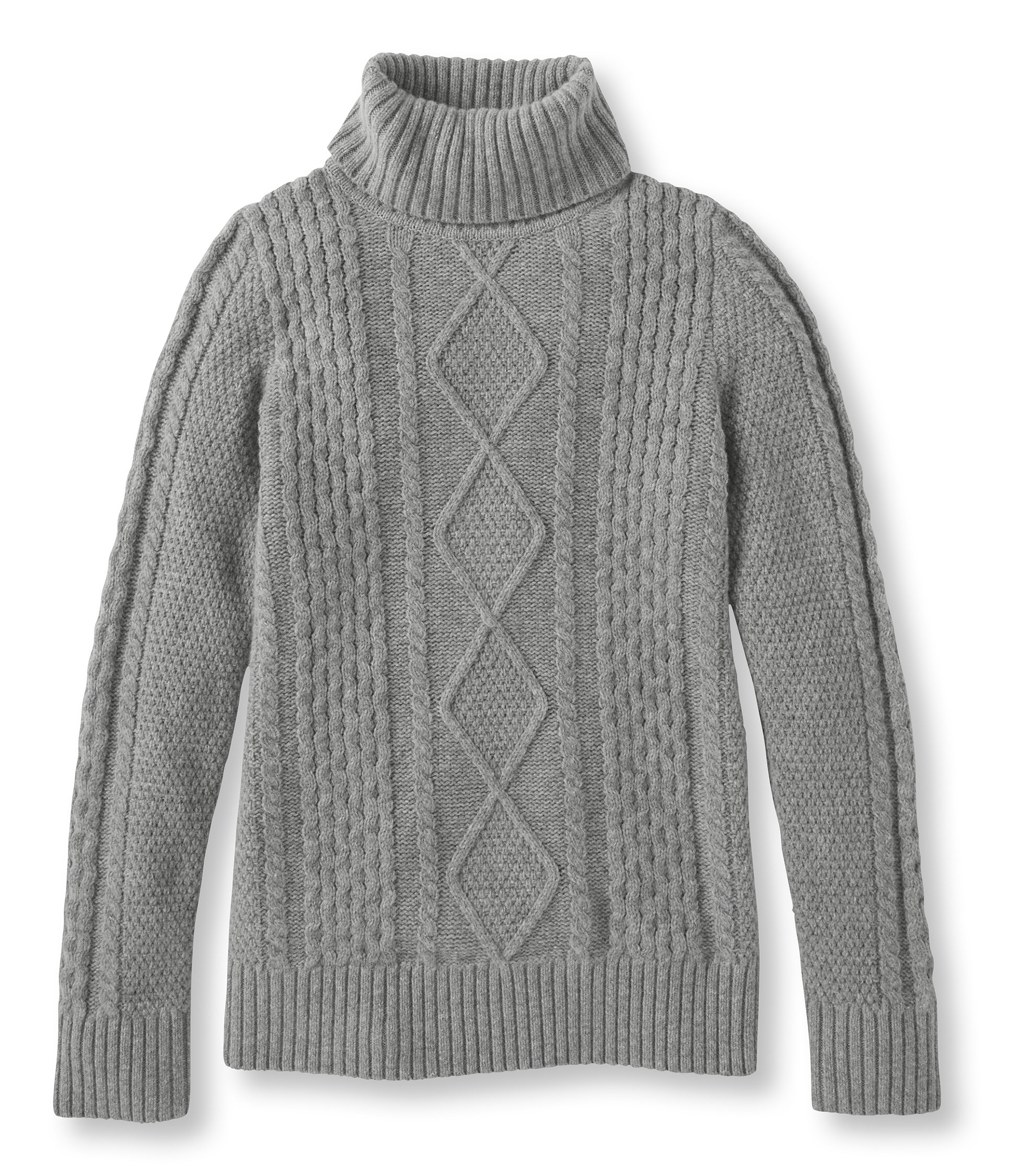 L.L.Bean Vintage Cable Turtleneck