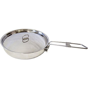 Self Reliance Outfitters Pathfinder Folding Skillet & Lid Set