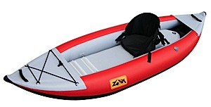 photo of a Zoik Inflatables inflatable kayak