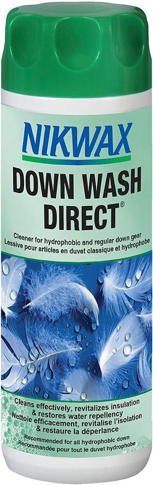 photo: Nikwax Down Wash Direct down cleaner/treatment