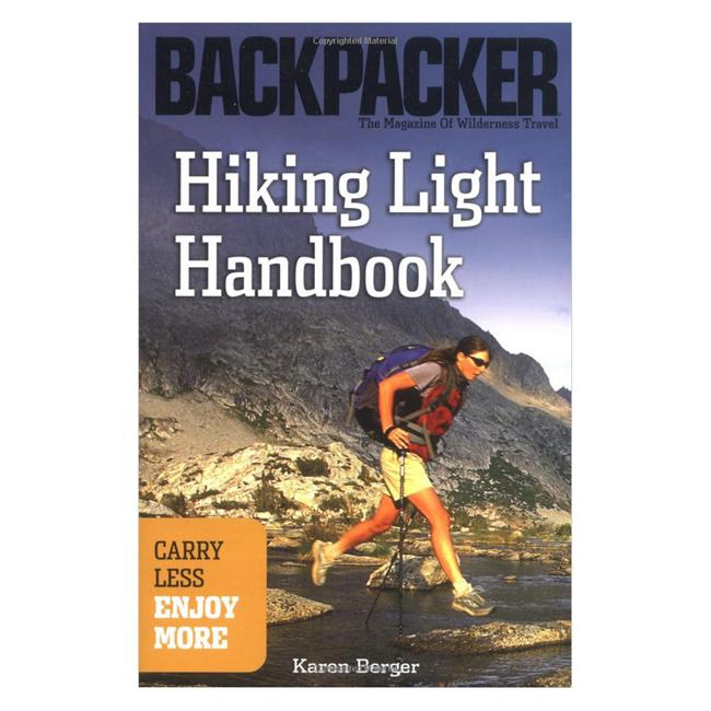 photo: The Mountaineers Books Hiking Light Handbook camping/hiking/backpacking book
