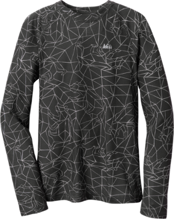 photo: REI Midweight Crew Print Top base layer top