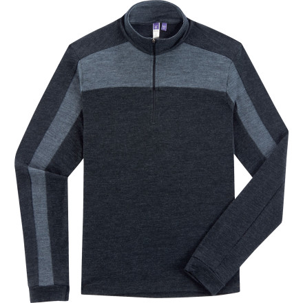 photo: Ibex Women's Indie Zip T base layer top