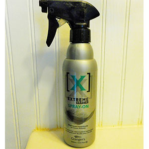 photo: Granger's Extreme Cleaner Spray-on down cleaner/treatment