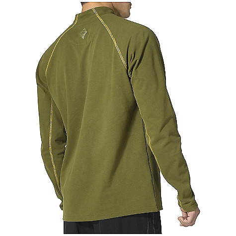 photo: prAna Neo Quarter Zip long sleeve performance top