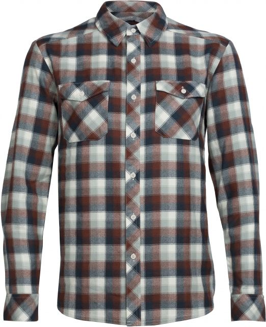 Icebreaker Lodge Long Sleeve Shirt Plaid