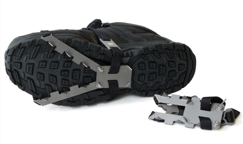 photo: Vargo Titanium Pocket Cleats traction device