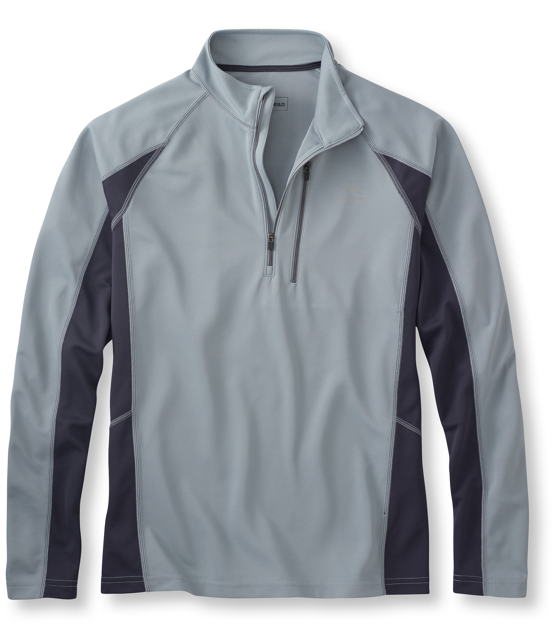 L.L.Bean Ridge Runner Shirt, Long-Sleeve Quarter-Zip