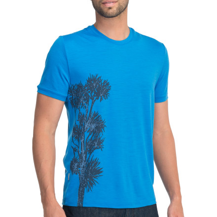 Icebreaker Tech T Lite Short Sleeve Stuart's Tree