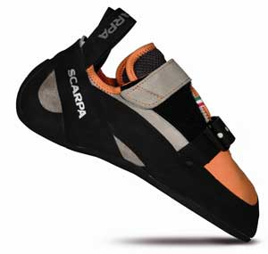 photo: Scarpa Vapor V climbing shoe