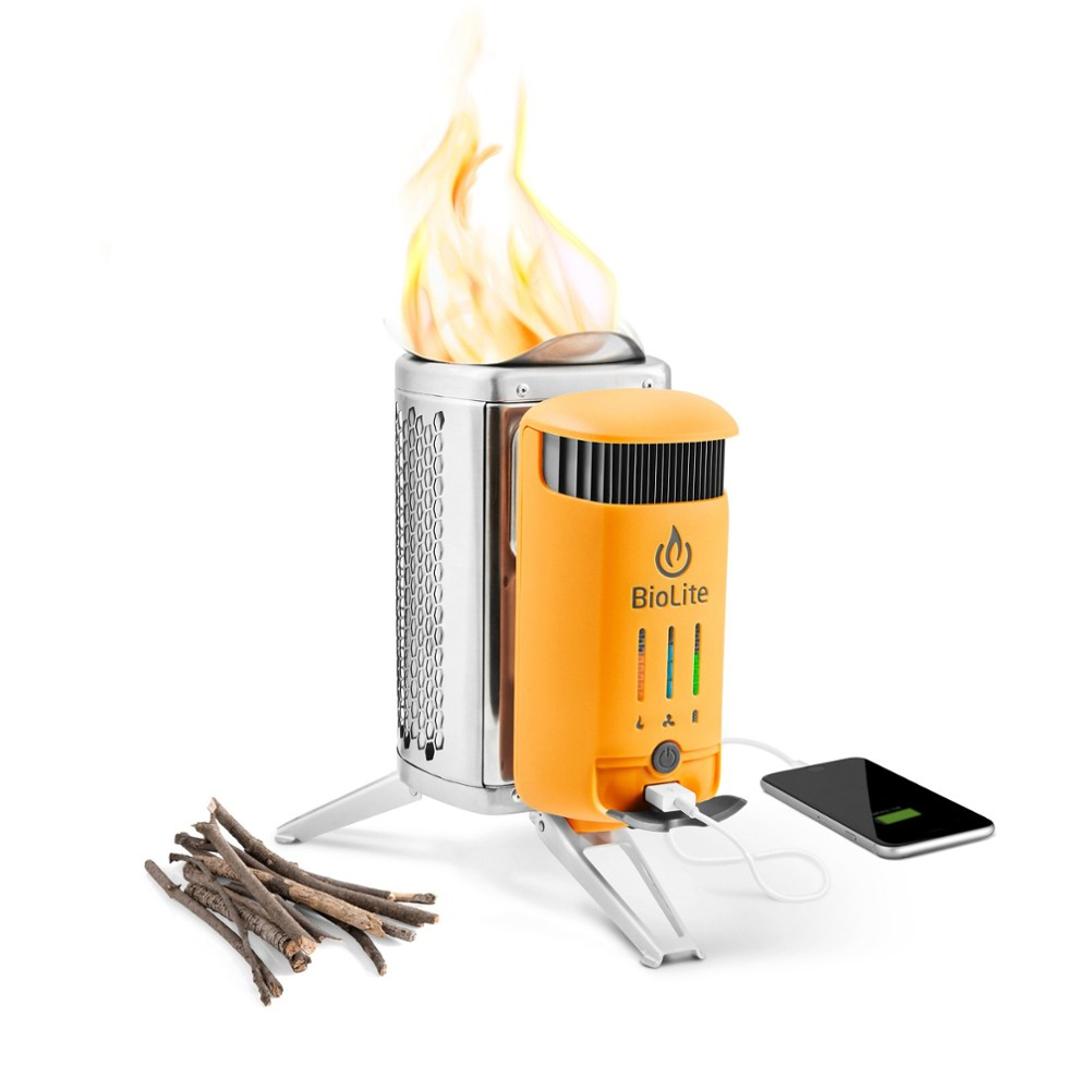 photo of a BioLite backpacking/camp stove