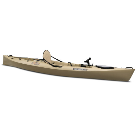 photo: Heritage Kayaks Redfish 12 Angler fishing kayak