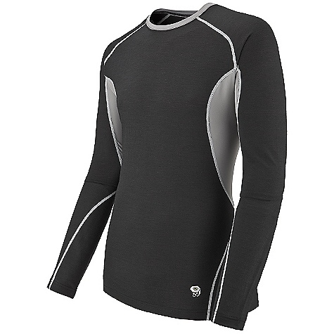 photo: Mountain Hardwear Integral Long Sleeve Crew base layer top