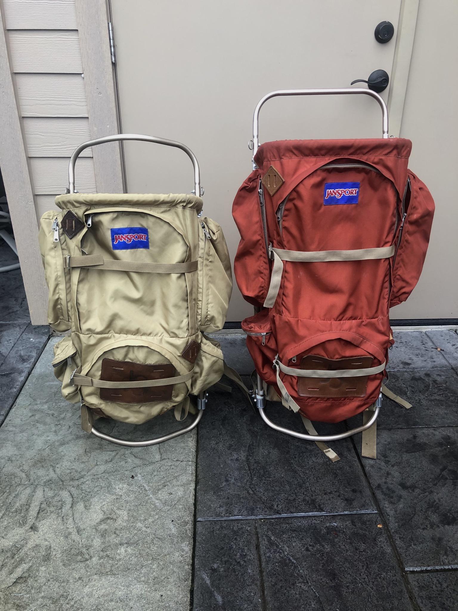 photo: JanSport D5 external frame backpack