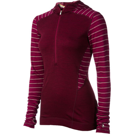 photo: Smartwool Midweight Pattern Hoody long sleeve performance top