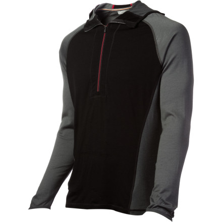 photo: Smartwool Men's Lightweight Hoodie base layer top