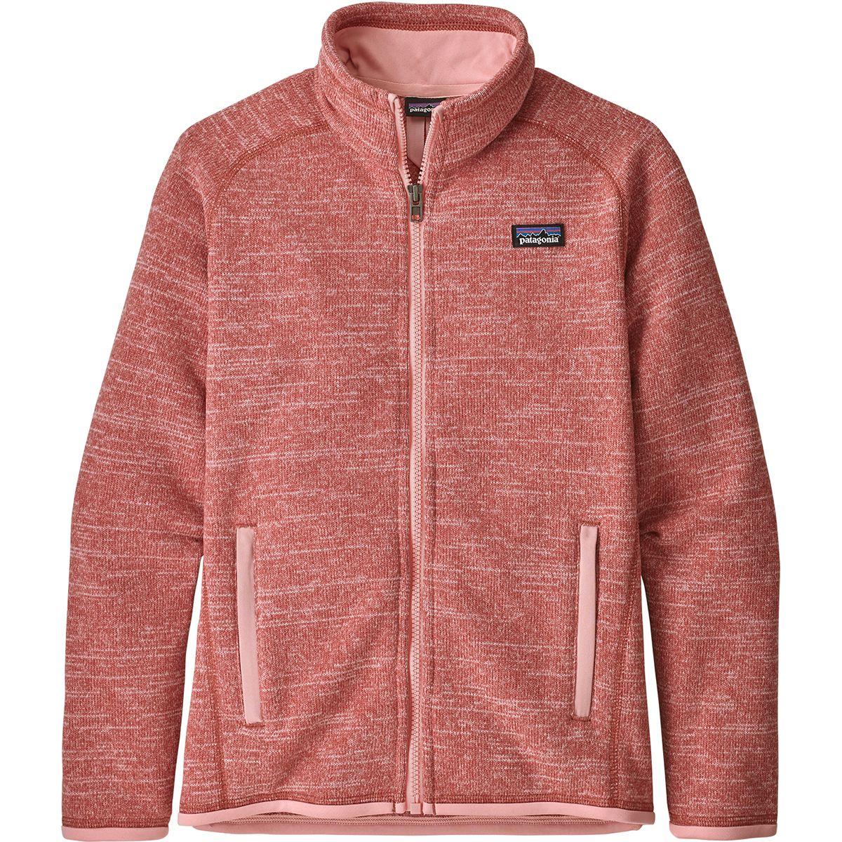 photo: Patagonia Girls' Better Sweater Jacket fleece jacket