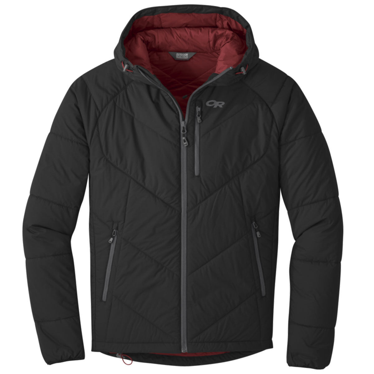 photo: Outdoor Research Men's Refuge Hooded Jacket synthetic insulated jacket