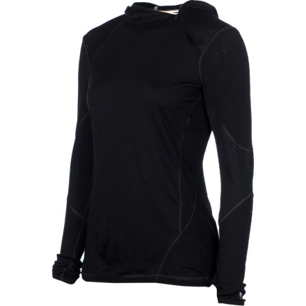 photo: Smartwool Women's Lightweight Hoodie base layer top