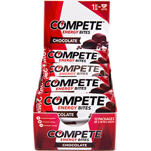 photo of a COMPETE Energy Bites nutrition bar