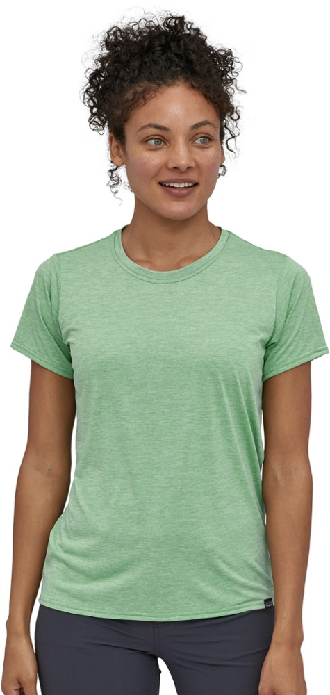 photo: Patagonia Women's Capilene Cool Daily Shirt short sleeve performance top