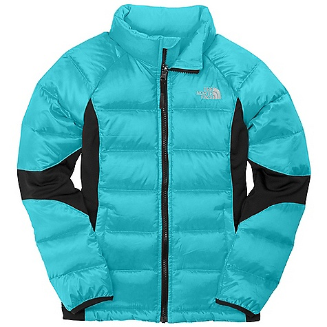 photo: The North Face Girls' Lil' Crympt Jacket down insulated jacket
