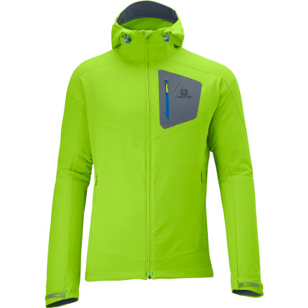 photo: Salomon Parmelan Softshell Jacket soft shell jacket