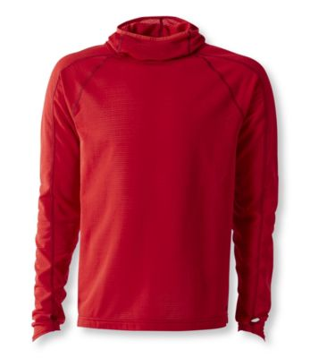 L.L.Bean Power Dry Stretch Base Layer, High-Efficiency Hooded