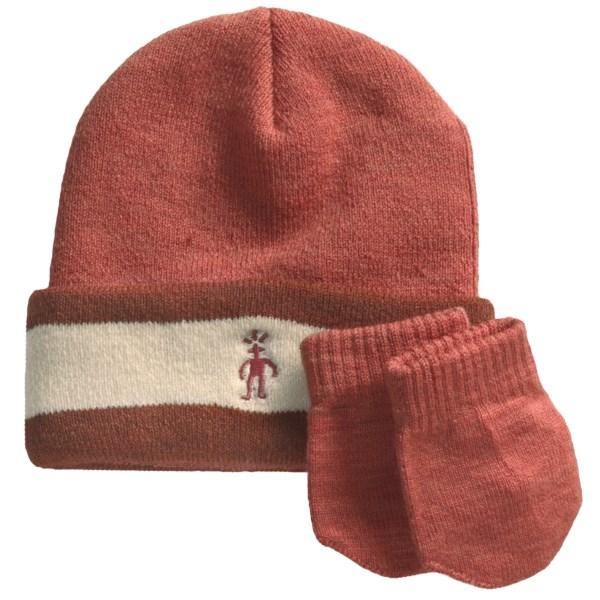 photo: Smartwool Cuffed Beanie Hat & Mitten Set winter hat