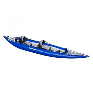 photo of a Aquaglide inflatable kayak