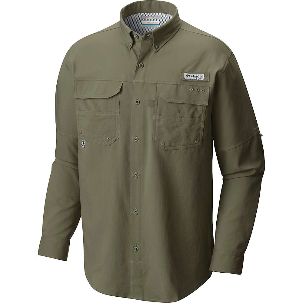 Columbia PFG Blood and Guts III Long Sleeve Woven Shirt