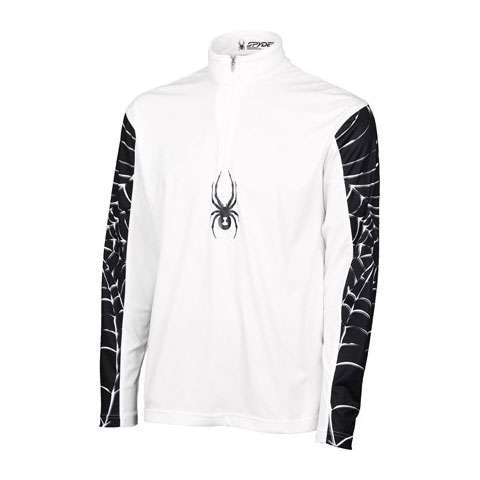 photo: Spyder Web King Dry W.E.B. T-Neck long sleeve performance top