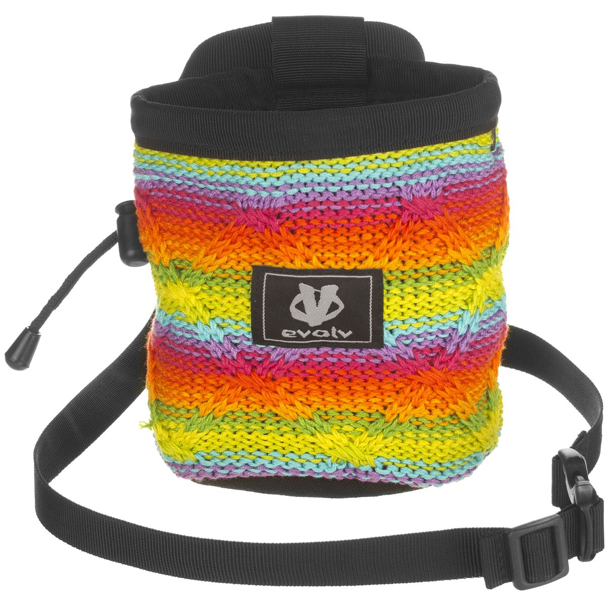 evolv Cotton Knit Chalk Bag