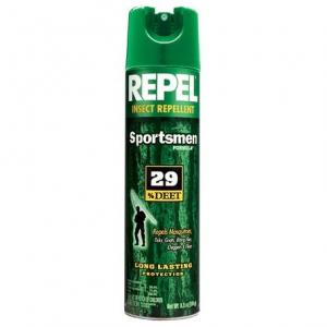 photo: Repel Sportsman 29% Deet Aerosol insect repellent