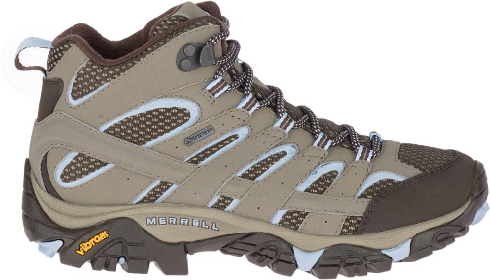 photo: Merrell Women's Moab 2 Mid Gore-Tex hiking boot