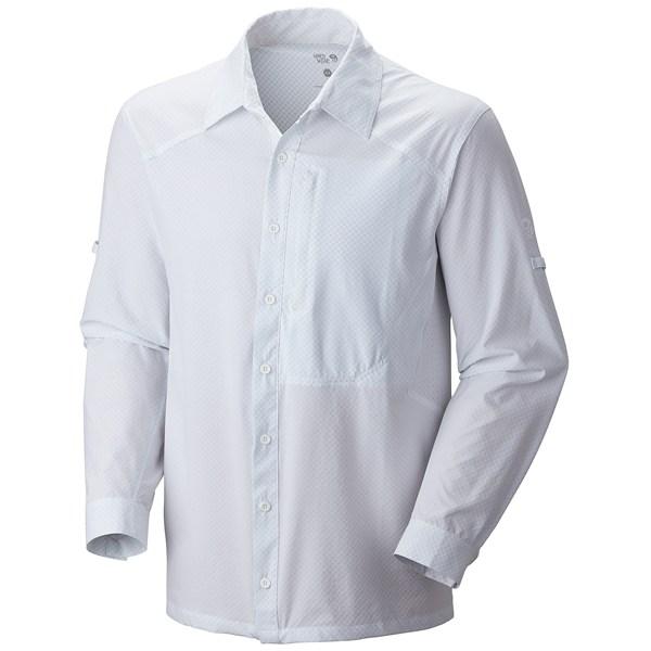 photo: Mountain Hardwear Chiller Long Sleeve Shirt hiking shirt