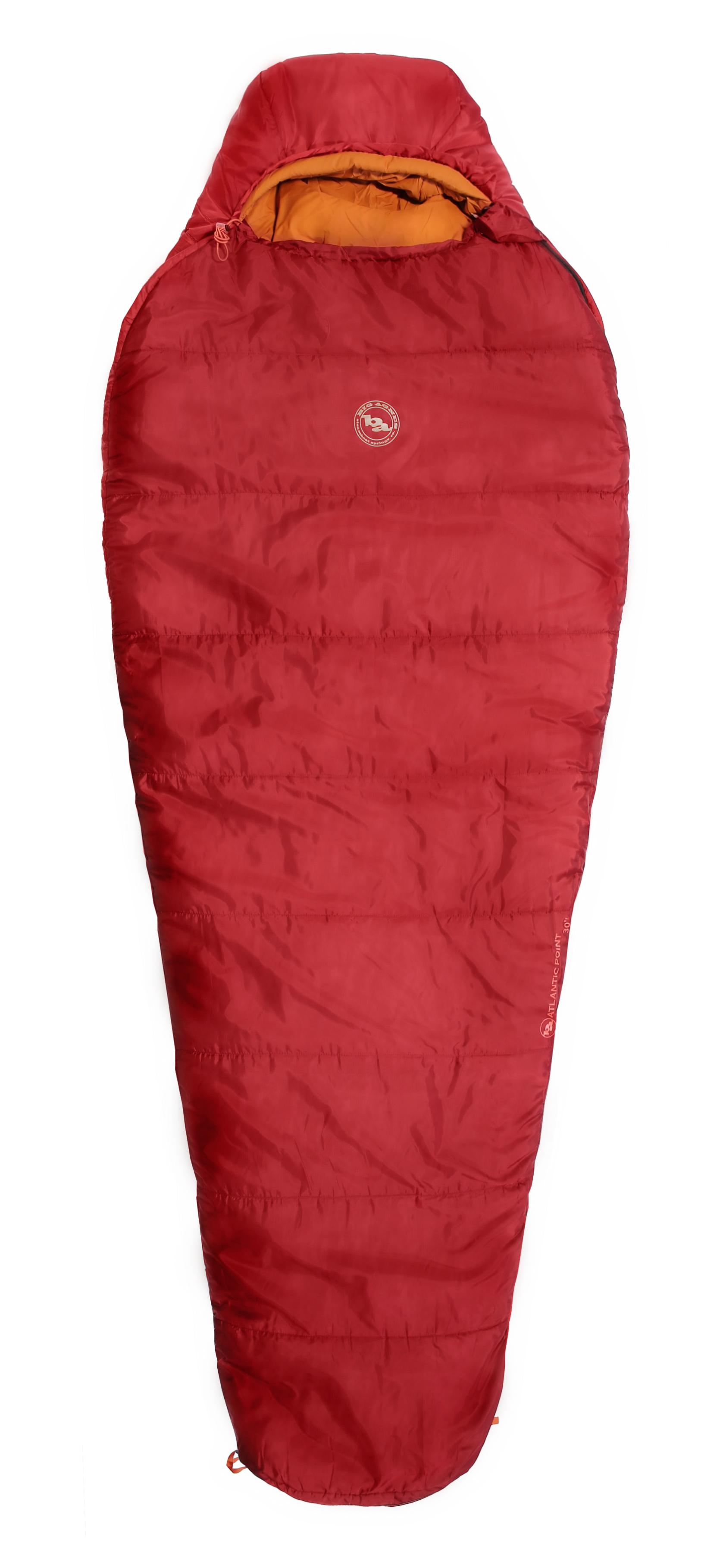 photo: Big Agnes Atlantic Point 30 3-season synthetic sleeping bag