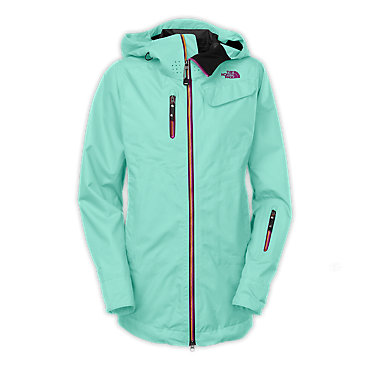 photo: The North Face Women's Cymbiant Jacket waterproof jacket