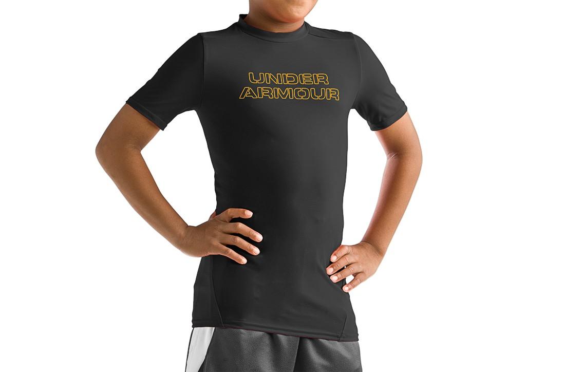 photo: Under Armour HeatGear Wordmark Graphic T Shirt short sleeve performance top