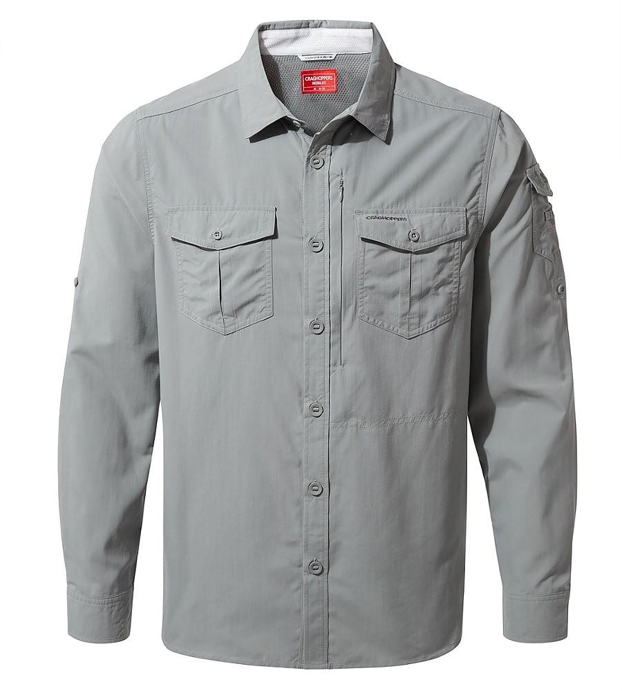 photo: Craghoppers NosiLife Adventure Long-Sleeved Shirt hiking shirt