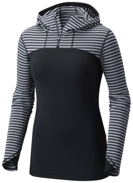 photo: Mountain Hardwear Butterlicious Long Sleeve 1/2 Zip long sleeve performance top