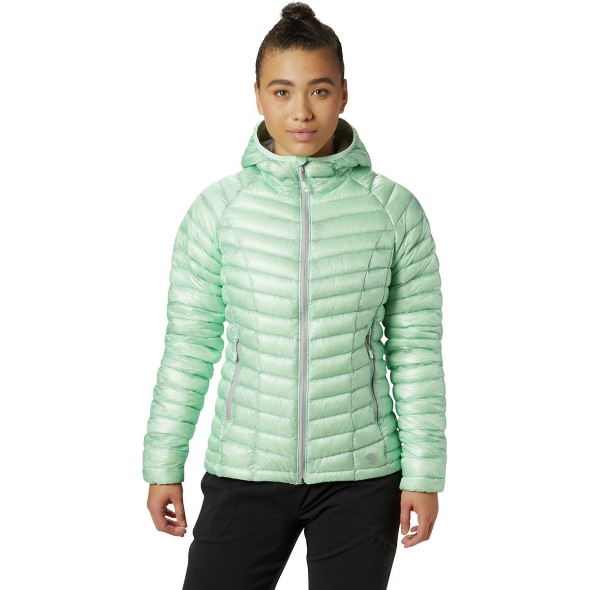 photo: Mountain Hardwear Women's Ghost Whisperer Hooded Down Jacket down insulated jacket