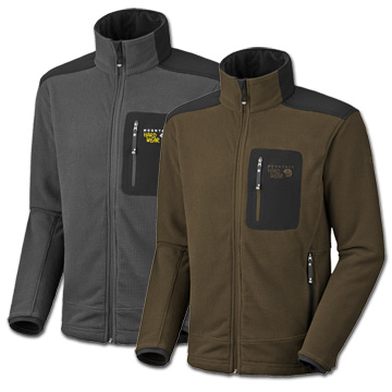 photo: Mountain Hardwear Bedlam Jacket fleece jacket