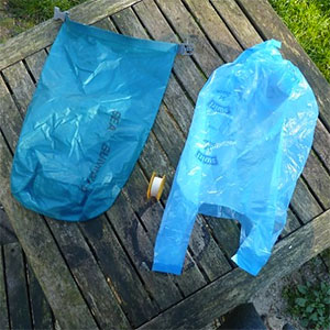 photo: DIY: My Own Trash Bag Solution stuff sack